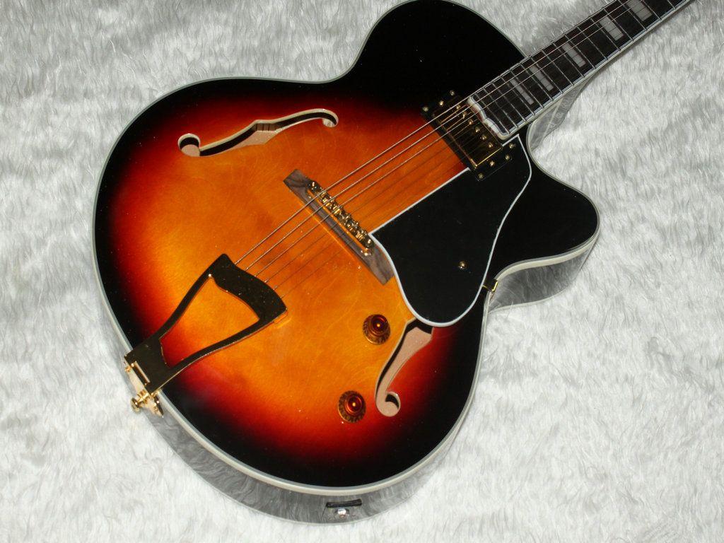 luxury jazz semi hollow guitar sunburst l5 electric guitar musical instruments electric guitar. Black Bedroom Furniture Sets. Home Design Ideas