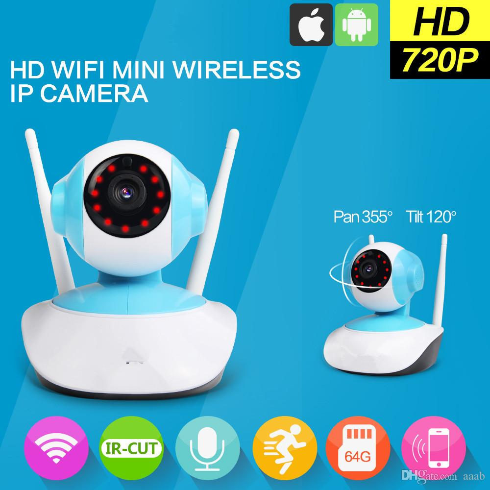 Wireless WiFi Security Camera System 1.3MP 720P HD Pan Tilt IP ...