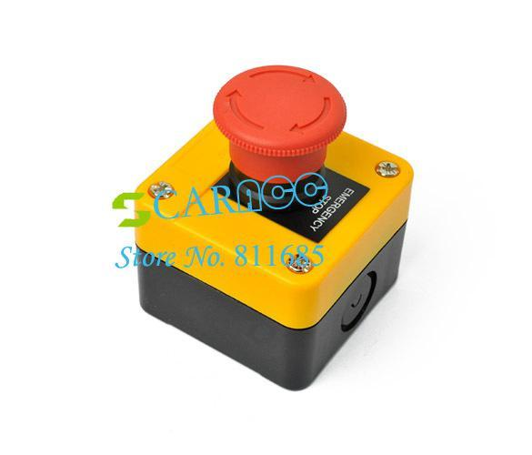 HOT SALE Emergency Stop Push Button Switch 660V Red Sign TK0344
