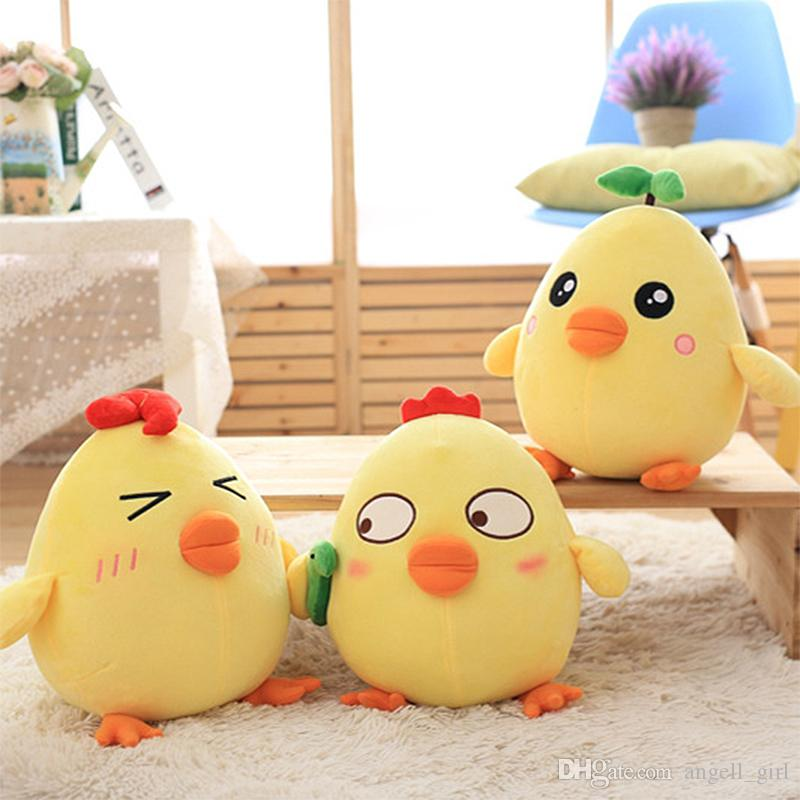 2019 New Plush Toys 20cm Kawaii Chicken Stuffed Animal Plush