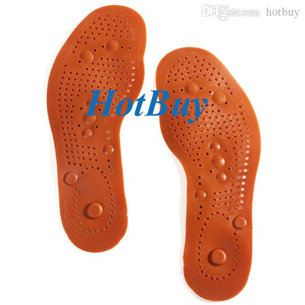Foot Care Feet Insole Massager Shoe Pads Magnetic Therapy Thenar Massage Healthy /Pair #3778