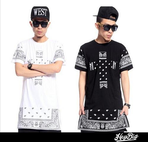2015 Summer Style T Shirt Men Punk Hip Hop Extra Long T Shirt For Men Big  Sean Extended Tee Shirts Wiz Khalifa Asap Rocky Style Different T Shirts  Day Shirt ... 0eaba00a31e