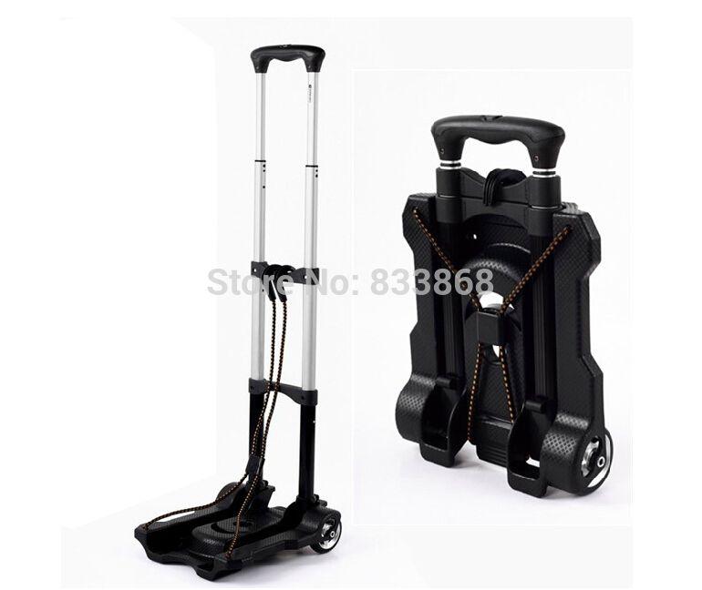 new trolley car portable folding luggage cart shopping cart small portable car folding mini trolley