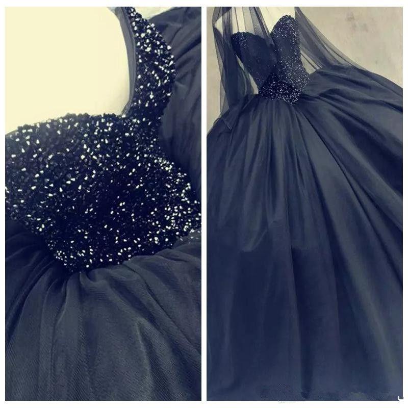 Black Dresses for Sweet 16 Masquerade Ball