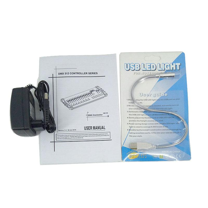 Fast Shipping DMX 384 Controller, for Stage Lighting 512 DMX Console DJ Controller equipment