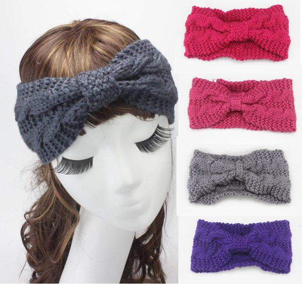 Crochet Headbands For Women Ear Warmer Band Hair Accessories For ...