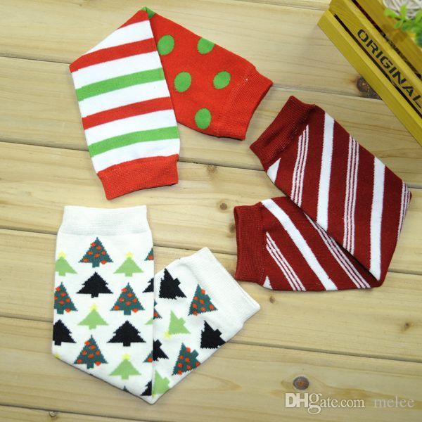 Fedex UPS Free Ship 2016 новый Хэллоуин детские ноги теплее Рождество детские Санта гетры дети оленей гетры мальчики девочки Шеврон носок