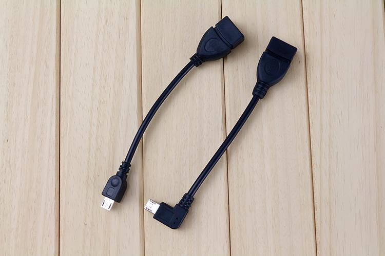 Mini Micro USB OTG OSPITE Cavo adattatore Samsung HTC Tablet Sony Tablet PC Android MP3 MP4 Smart Phone