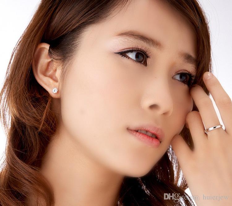 Set di gioielli da damigella d'onore matrimonio oro come 925 sterling argento catene collana pendente orecchino le donne gemstone anelli set di gioielli partito