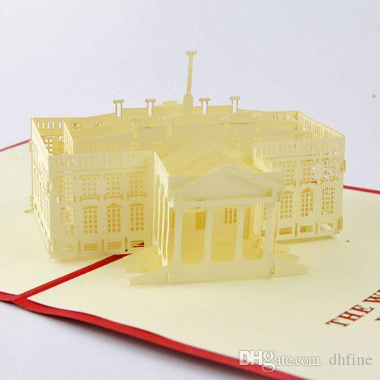 3d Cube Life Building The White House Perspective Greeting Cards – Birthday Card from White House
