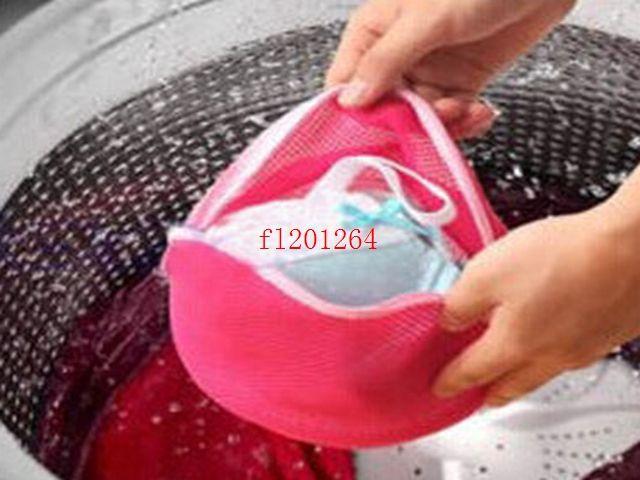Red color Laundry Washing Machine Bag Socks Lingerie Bra Underwear Net Mesh Bag