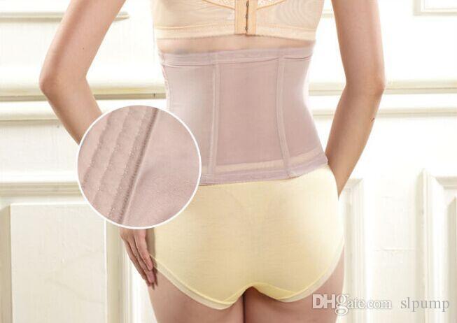 Gauze Women Waist slimming belt corset Trainer Slimming Shapewear Training Corsets Cincher 3 hooks Body tummy Shaper Bustier