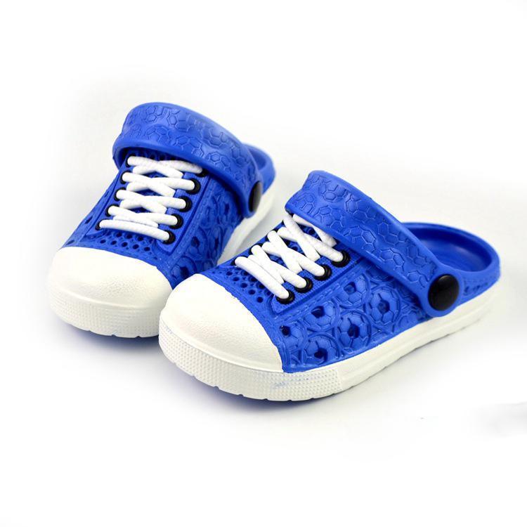 2016 년 여름 세례 자선 신발 소녀 신발 소녀 통기성 신발 슬리퍼 소년 소녀 샌들 편안한 어린이 해변 신발