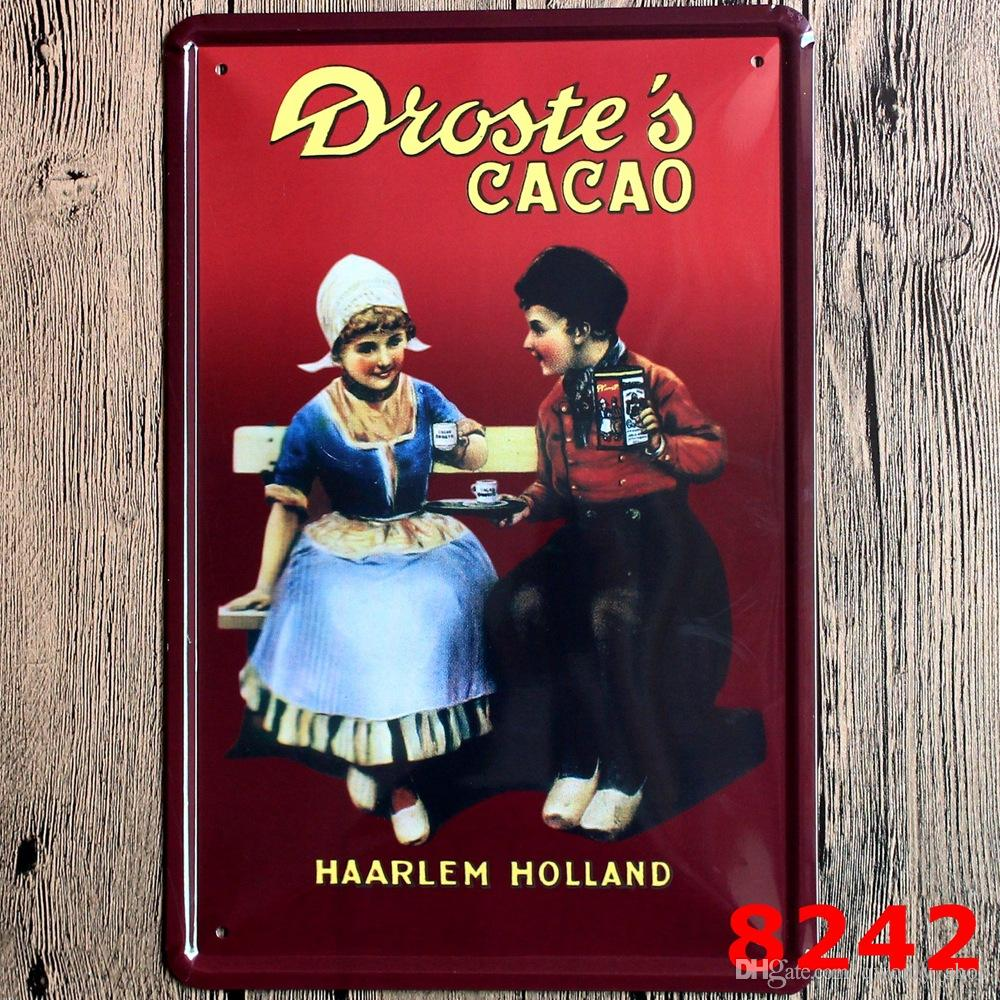 Beer Coffee Billboard Retro stamps Tin Signs Wall Art decor Bar Vintage Metal Craft ainting 20*30 CM