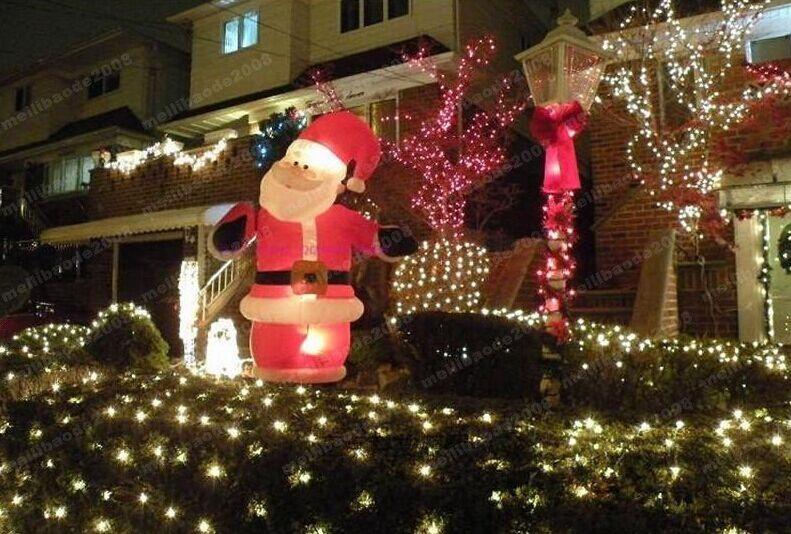 High Power Blue 200 LED 2m *3m Net light Net Mesh Fairy Lights Twinkle Lighting Christmas Wedding MYY1662
