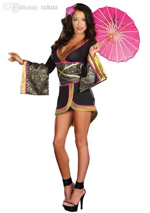 Sexy geisha lingerie