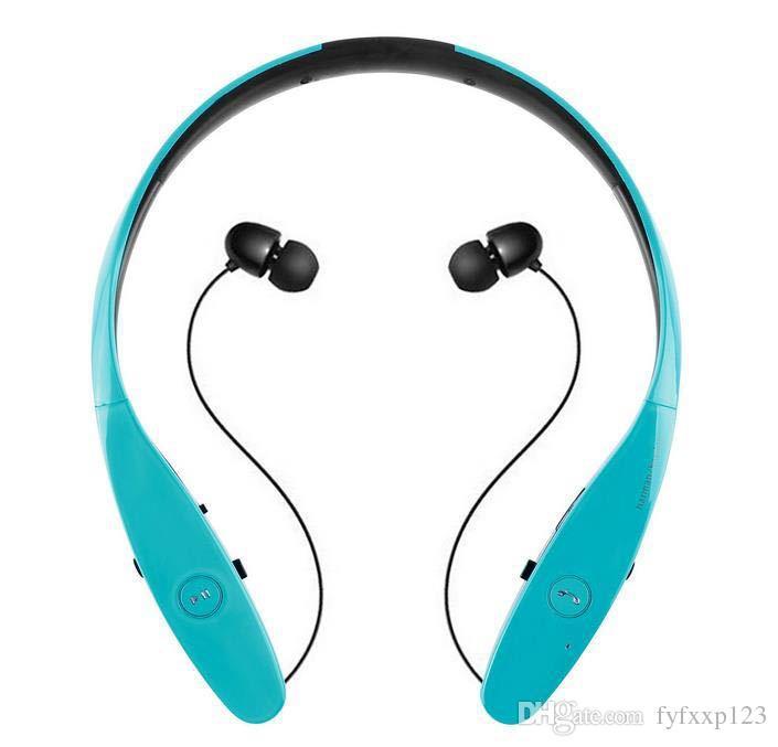 HBS 900 HBS-900 Wireless Sport Neckband Headset In-ear Headphone Bluetooth Stereo Earphones Headsets For LG HBS-900 iPhone X 8 Samsung S8 B1