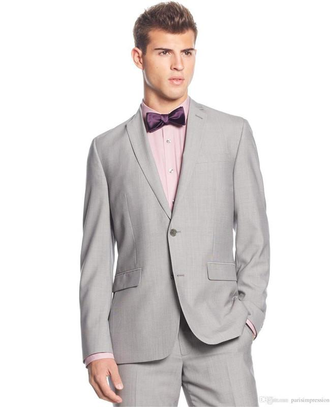 Customize the latest high quality noble fashion version two grain of a two-piece men preferred the gun collar suit