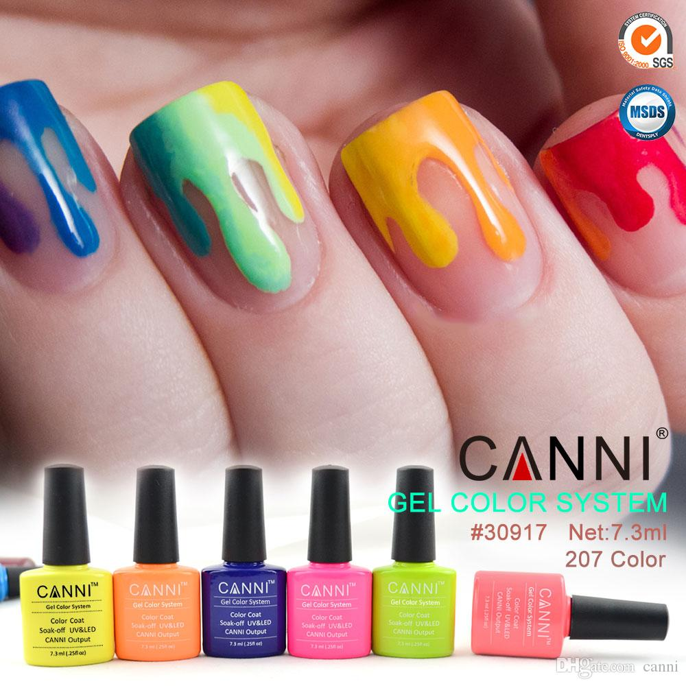7.3ml Canni Factory Supply Wholesale Gel Color System Uv Led Gel ...