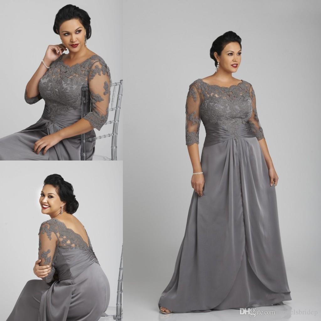 Vestidos madre de la novia tallas grandes