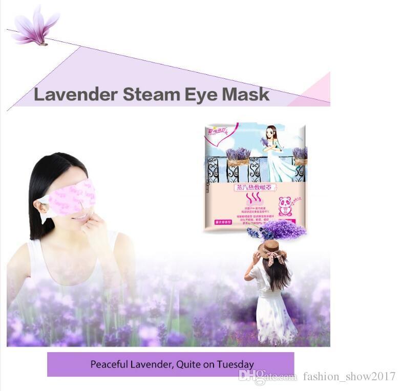 Máscara de Vapor Mix Pacote de Vapor do Olho Quente Máscara de Olhos Fadiga de Alívio Anti-inchaço Auto Aquecimento Pad Máscara de Vapor