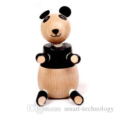 ANAMALZ Toys 24 Moveable Wooden Toys Zoo Animals Dolls Maple Wood Textiles Toys For Kids