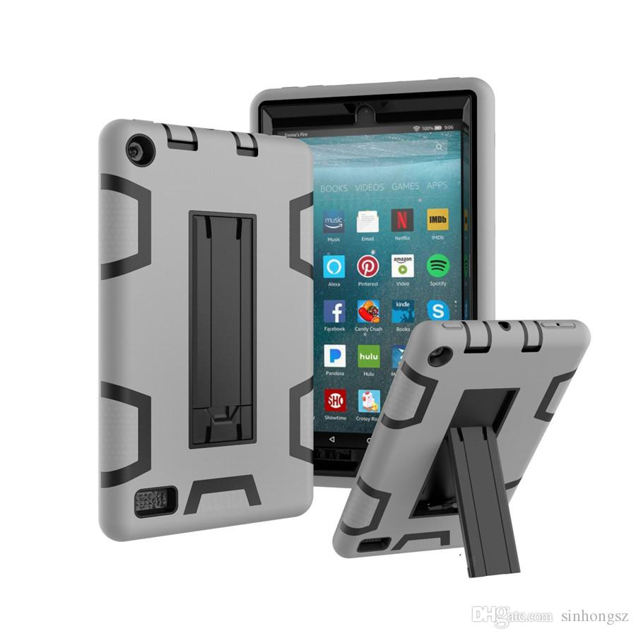 Kick stand hybrid tablet cases for kindle fire 7 2017 2015 cover kick stand hybrid tablet cases for kindle fire 7 2017 2015 cover shockproof defender armor 360 degree full body heavy duty protection tablet case keyboard publicscrutiny Image collections