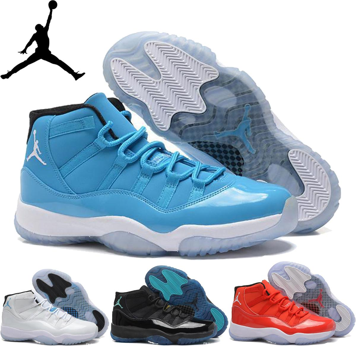 best sneakers ff0c8 65db8 Großhandel Nike Air Jordan 11 Retro XI Männer Frauen Basketball Schuh Bred  Concord 72 10 Gamma Blau Ultimate Gift Of Flight Für Herren AJ11 Turnschuhe  Von ...