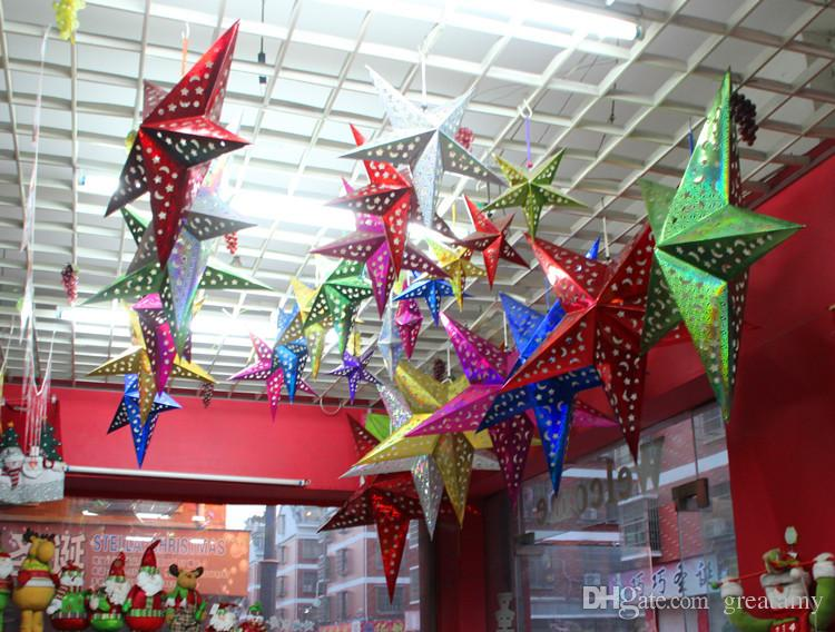 2015 New Hot 60cm Christmas Star Decorations Xmas Creative Cute Christmas  Tree Home Indoor Ornaments Best Gifts Sd 48 Make Christmas Decorations  Mexican ...