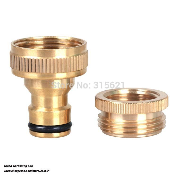 2018 Pure Brass Female Standard Connector Water Gun Fast Connecting ...