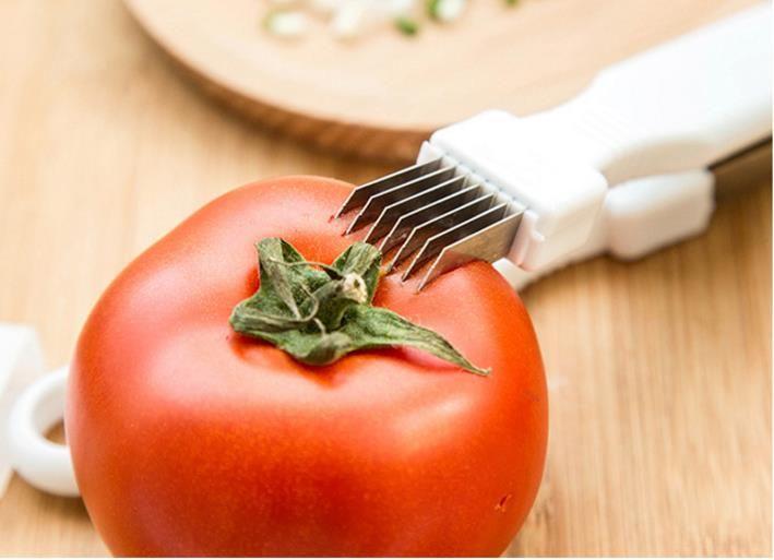 Küchengeschirr Gemüsemesser Magie Mehrfachklinge Shredded Green Onion Messer Cut Frühlingszwiebel Gerät Küche Kochen Werkzeuge