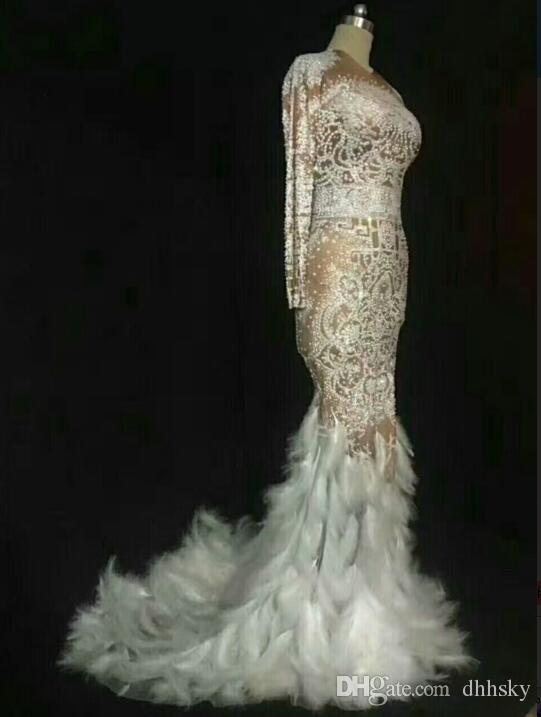 2019 Evening Dress Yousef Aljasmi Kim Kardashian Long