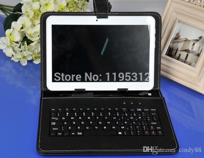 Tablet PC 10.1 Pulgadas MTK8382 Teléfono Quad Core 3G Android5.0 Tableta 1GB Ram 16GB Rom IPS Pantalla wifi Bluetooth