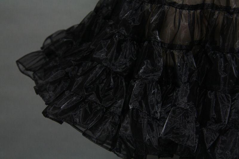 화려한 퍼플 페티코트 1950 년대 스타일 얇은 명주 사용자 정의 만든 모든 색상 무료 Underskirt 무료 배송 Tulle 스커트 Petticoats에 대한 Dres