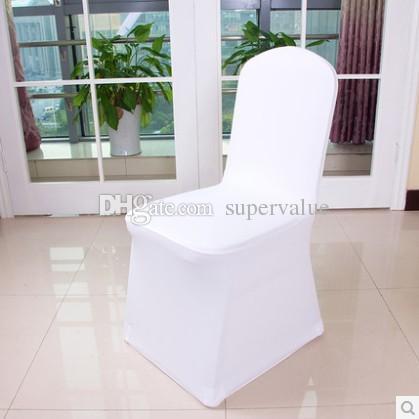 top selling! high quality cheap wedding white lycra spandex