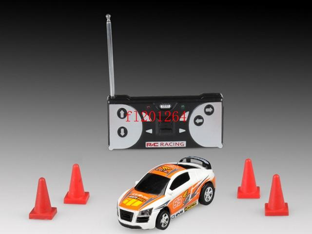 Mini-Racer Remote Control Car Coke Can Mini RC Radio Remote Control Micro Racing Car