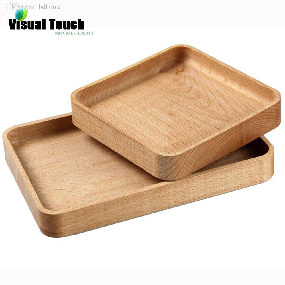 See larger image  sc 1 st  DHgate.com & 2018 Wholesale Japanese Natural Wooden Plates Handmade Zelkova Wood ...