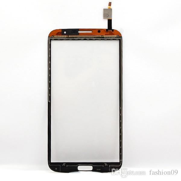Black Front Glass Lens Touch Screen Digitizer replacement part for Samsung Galaxy Mega 6.3 i9200 Wholesale Tracking No.