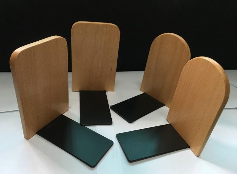 / concis style nature hêtre bois livre stand Zakka style bois serre-livres japonais style originalité Creative livre extrémités