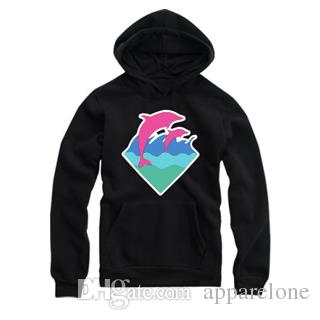 2015 New Autumn Winter Men Fashion Clothing Pink Dolphin Hoodies Sweater For Men Hiphop Sportswear Wholesale M-4XL