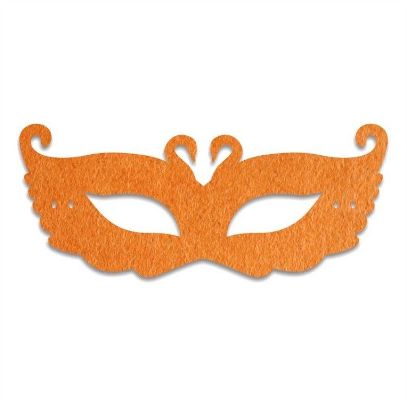 Swan Princess Half Felt Mask For Venetian Unisex Halloween Party Vizard Masks With Silk Ribbon Performance Props 4 8hyc B