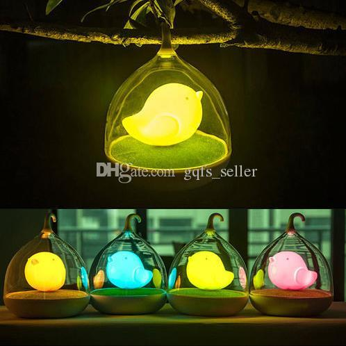 2017 Touch Sensor Birdcage Usb Led Lamps Rechargeable Novelty ...