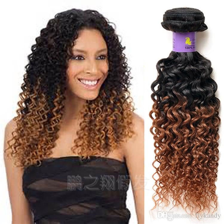Indian Deep Curly Wavy Virgin Remy Human Hair Extensions Gorgeous
