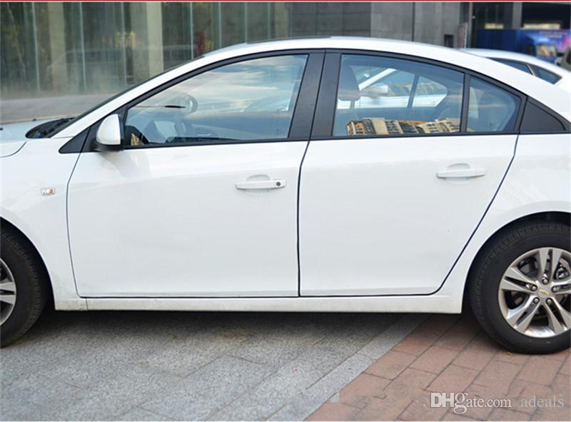 Auto anti collisione Side Door Edge Guard Protezione paraurti in gomma Adesivo Strip 5m Styling Cornici Auto porta decorativa striscia