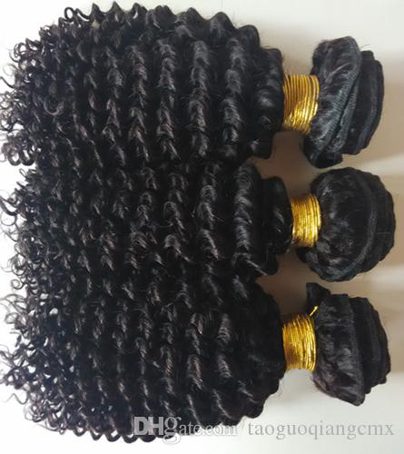 Brazilian Virgin Hair double weft Kinky Curly Indian remy Hair Weaves Curly Cheap Peruvian European Malaysian Human Hair extensions