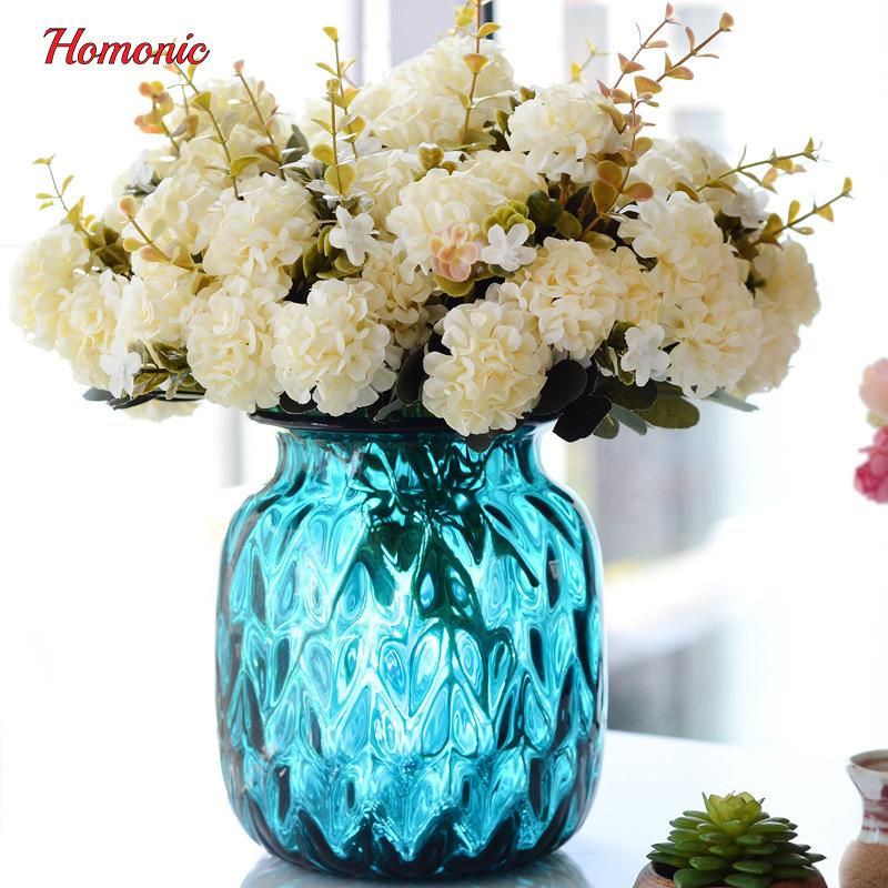 2018 Chrysanthemum Artificial Flowers Silk Chrysanthemum Ball 10 ...