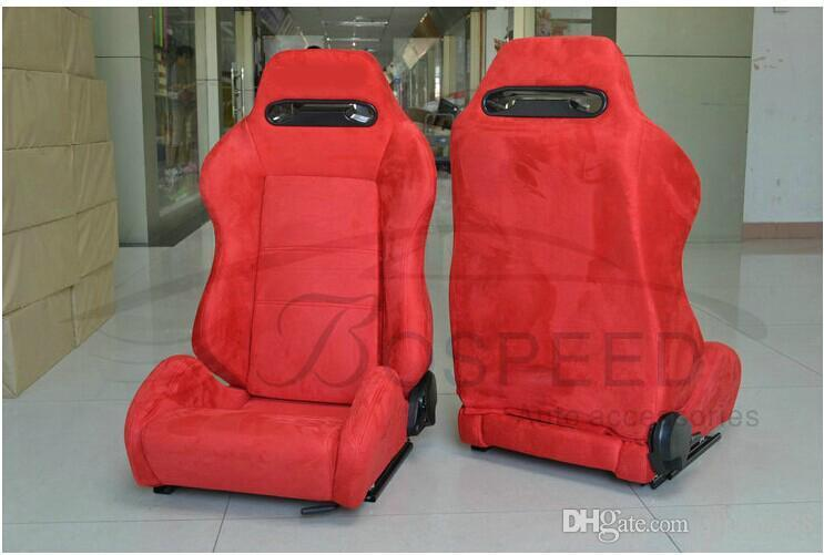Racing Seat Modification Car Seat Red Suede Adjustable Wholesale ...