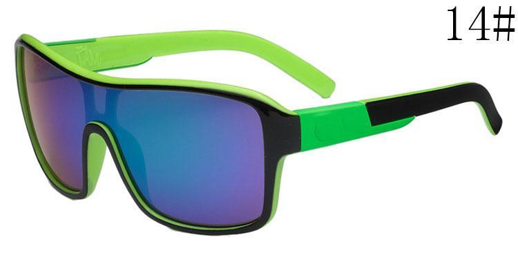 2015 ريميكس النظارات الشمسية للنساء والرجال أزياء مكبرة العلامة التجارية ركوب الدراجات الرياضة نظارات الشمس النمط الكلاسيكي ريميكس أحدث نسخة لون العدسة