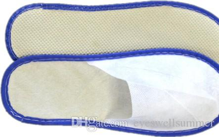 Самые дешевые хорошие качественные мягкие одноразовые тапочки одноразовая обувь домой белые сандалии отель babouche дорожная обувь SL001