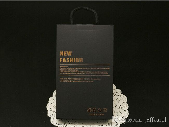 larger size Kraft Paper Fashion Retail Package Box For 7 iPhone 6 plus & Samsung Galaxy s5 s6 case Original package with hang rope